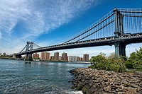 Manhattan Bridge, New York City, U.S.A