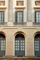 villa reale di via palestro, milano, lombardia, italia