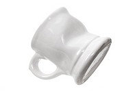 Coffee Mug on White Background