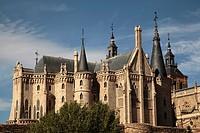Palacio espiscopal de Astorga de Antoni Gaudí, León, España