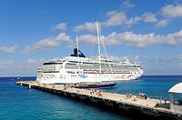 Cruise Ship Cozumel Mexico Caribbean Port
