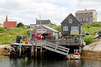 Canada, Nova Scotia, Eastern Shore, Atlantic Coast, Peggy's Cove, Maritime Provinces