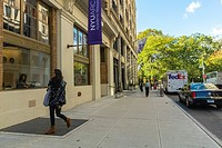 New York City, NY, USA, Students at New York University Campus,, in Greenwich Village Area, Washington Square West, Manhattan Area, Manhattan