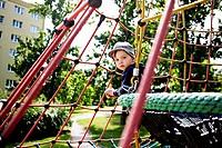 A boy on the playground CTK Photobank / Josef Horazny Model released, MR