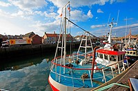 Eymouth, small fishing town, Scotland