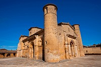 Saint Martin church. Romanesque style. Fromista. Palencia. Castilla y Leon. Spain. Camino de Santiago The way of St. James..