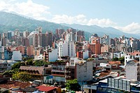 Panoramic of the City of Bucaramanga, Santander, Colombia