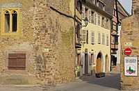 Eguisheim, Alsace Wine Route, Haut-Rhin, Alsace, France, Europe