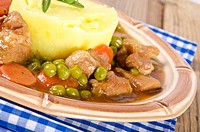 calf´s fricassee