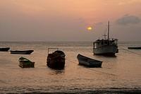 Coastal Town, Taganga, Santa Marta, Magdalena, Colombia
