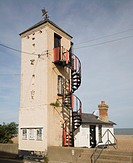 South lookout building, Aldeburgh, Suffolk England