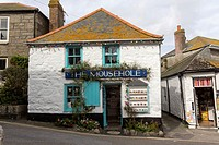 The Mousehole, a shop in Mousehole, Cornwall, England, Great Britain, Europe