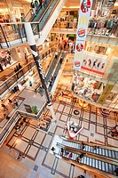 Czech republic, Prague, palladium, shopping mall, activity, architecture, building, business, buy, center, city, clothing, colour, commerce, commercia...