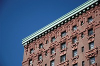 New York City, apartment building in the Upper West Side, Manhattan
