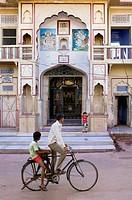 Street scene,pushkar, Rajasthan, india
