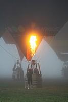 Balloon, Coupe Icare, Saint Hilaire du Touvet, Isère, Rhône-Alpes, France.