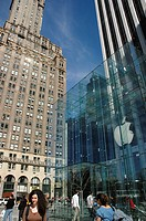 New York City, Apple Store at 767 Fifth Avenue, Manhattan