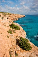 Migjorn Coast Spain Baleares Mallorca Ses Salines