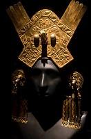 Pre-Columbian Jewelry  Moche culture 100 AC-800 AC  Perú