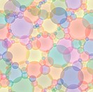 Abstract seamless texture in pastel tones