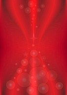 Transparent circles on a red background