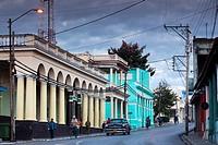 Cuba, Pinar del Rio Province, Pinar del Rio, city buildings