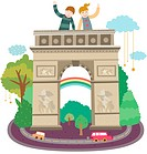 Attractions of triumphal arch