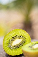 USA, Texas, Close of up kiwi