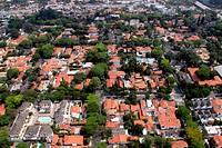 Aerial view, Brooklin Paulista, Campo Belo, São Paulo, Brazil