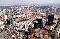 Aerial view, Avenue Roque Petroni, Shopping Morumbi, Shopping Market Place, Town Gertrude, Santo Amaro, Chácara Santo Antônio, São Paulo, Brazil