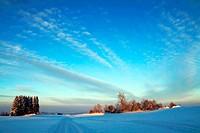 Ein herrlicher Wintertag in Bayern