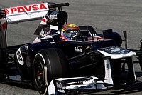 Pastor Maldonado VEN, Williams_Renault FW34,F1,Testing Barcelona, Spain ,Barcelona 