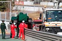 Vitaly Petrov RUS, Lotus Renault GP, R31,F1,Testing Barcelona, Spain ,Barcelona .