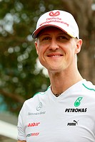 Michael Schumacher GER Mercedes GP, F1, Australian Grand Prix, Melbourne, Australia