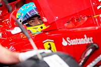 Fernando Alonso ESP Scuderia Ferrari, F1, Australian Grand Prix, Melbourne, Australia