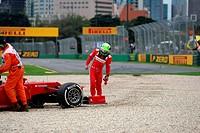Felipe Massa BRA Scuderia Ferrari, F1, Australian Grand Prix, Melbourne, Australia