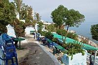 Cafe Hafa Coffee shop, Tangier, Maroc, Afrique du Nord