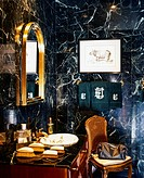 Bathroom Clad in Marble