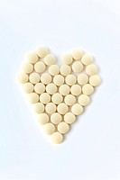 Heart made out of Prescription Antibiotic Drugs