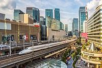 Japan , Tokyo City, Ginza District , Harajuku Satation , Bullet Train