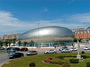 Santander Spain  Sports Palace in the city of Santander