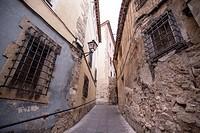 Cuenca street, Castile-La Mancha, Spain.