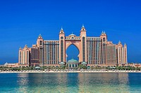 United Arab Emirates UAE , Dubai City , The Palm Jumeirah , Atlantis Bldg