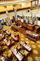 Senate Chamber State Capitol Jackson Mississippi MS US