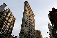 Flatiron Building, Fifth Avenue, Broadway and West 23rd Street, Manhattan, New York City, USA