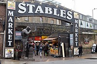 Stables market, Horse Stables, Camden Lock Market, Camden Lock, Camden, London, England, United Kingdom, Europe