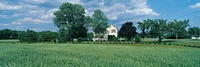 Farm House and Spring Field, Maryland