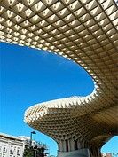 Sevilla Spain  Metropol Parasol in the square of the Encarnacion in Seville
