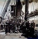Immigrants aboard the Ship Pavonia Enroute to the United States, 1896