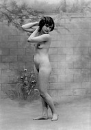 Standing Nude Woman, Portrait, Circa 1927